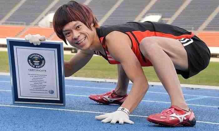 衝撃!!色々な100m世界記録