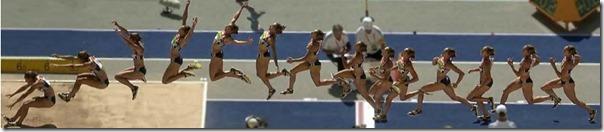 30m、100mの記録からあなたに合った走幅跳の助走距離/歩数を計算するツール