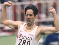 男子100m走 日本10傑タイム記録者の身長と体重