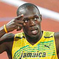 男子100m走 世界10傑タイム記録者の身長と体重