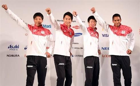 【これが最速日本人の顔だ】リオ五輪リレーメンバーの4人の顔をひとつに合わせると...